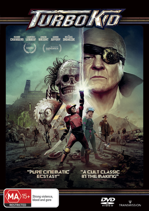Turbo Kid on DVD