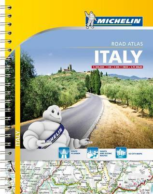 Michelin Italy Road Atlas by Michelin