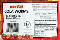 Kervan Cola Worms Bulk Bag 2kg