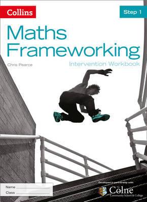 KS3 Maths Intervention Step 1 Workbook by Chris Pearce image