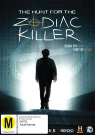 The Hunt for the Zodiac Killer on DVD