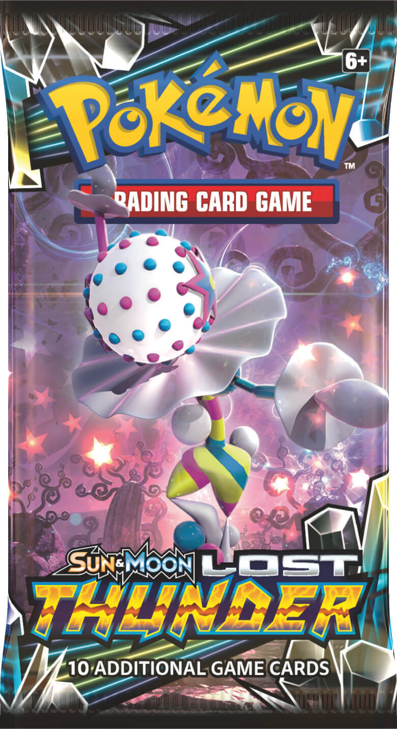 Pokemon TCG: Lost Thunder - Single Booster (10 Cards) image