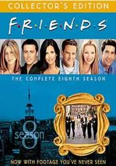 Friends - Season 8 Collector's Edition (NTSC)  (4 Disc Box Set) on DVD