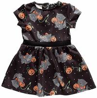 Sourpuss Feline Spooky Kids Dress (4T)