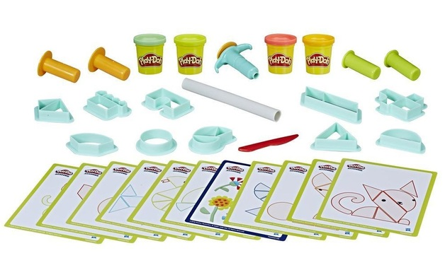 Play-Doh: Academy - Puzzle Solvers Activity Kit