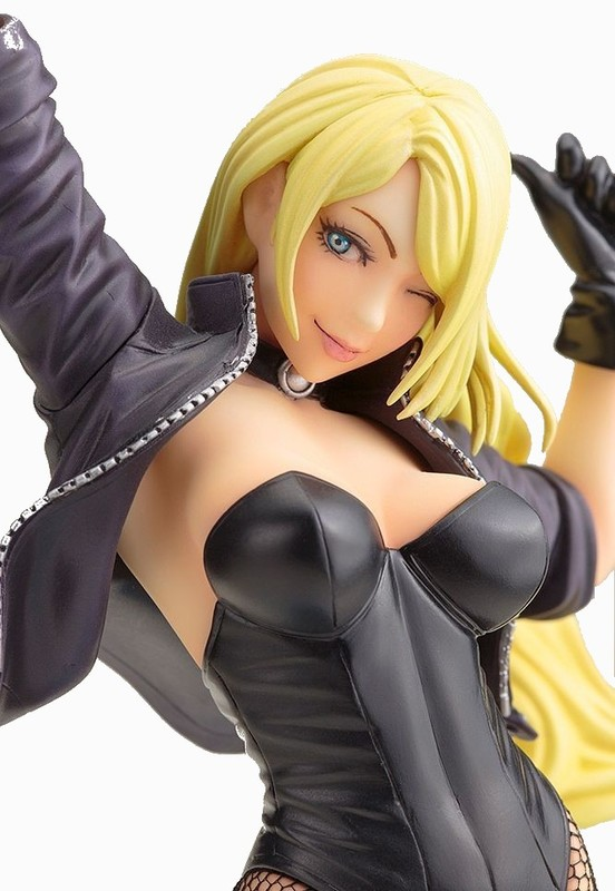 DC Comics Bishoujo: 1/7 Black Canary (2nd Edition) - PVC Figure