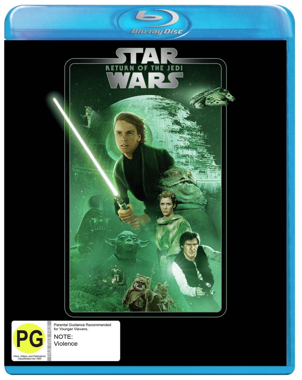 Star Wars: Episode VI - Return of the Jedi on Blu-ray image