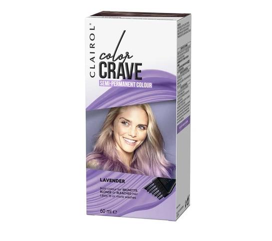 Clairol: Color Crave Semi Permanent Hair Colour - Lavender
