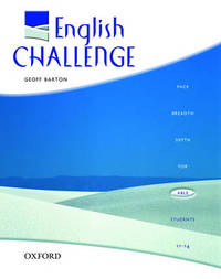English Challenge: Students' Book by Geoff Barton image