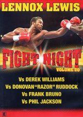 Fight Night - Vol. 20: Lennox Lewis on DVD
