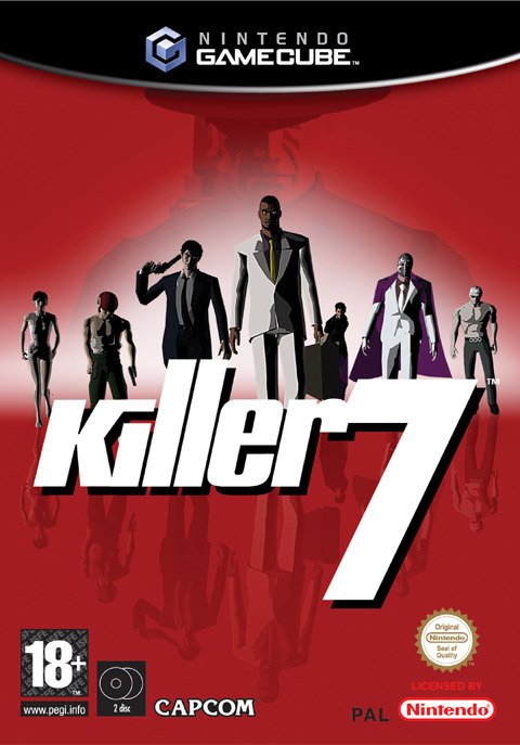 Killer 7 for GameCube