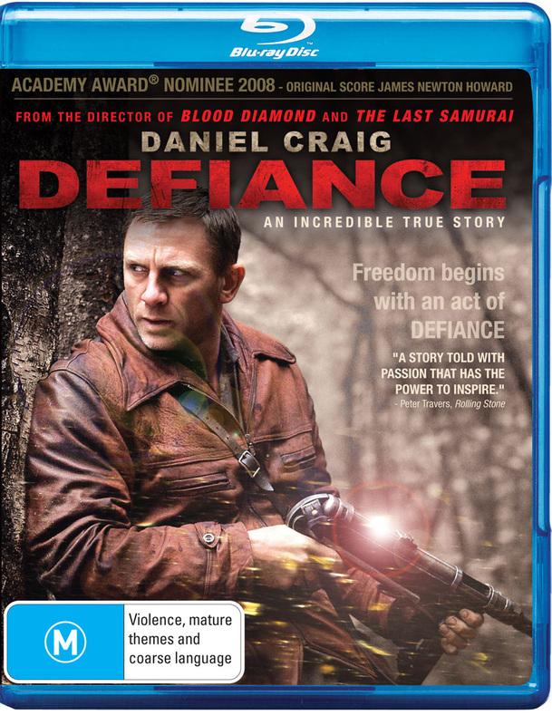 Defiance on Blu-ray