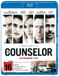 The Counselor on Blu-ray