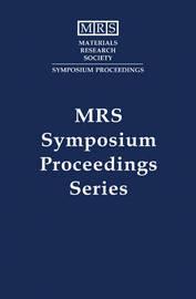 MRS Proceedings High-Temperature Ordered Intermetallic Alloys VII: Volume 460