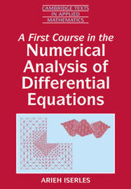 A First Course in the Numerical Analysis of Differential Equations image