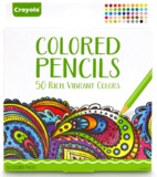 Crayola Colour Escapes: Colouring Pencils - 50 Pack