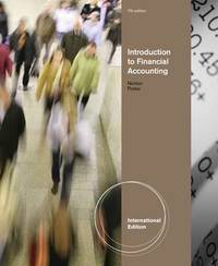 Introduction to Financial Accounting by Curtis L Norton image