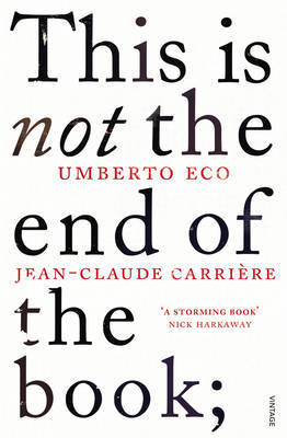 This is Not the End of the Book by Umberto Eco image