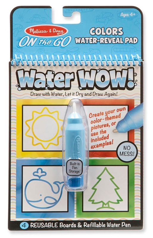 Melissa & Doug: Water Wow Colours & Shapes - Water Reveal Pad