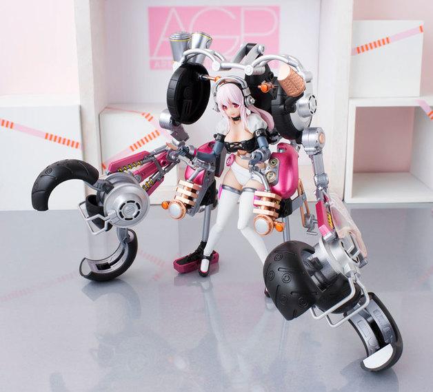 AGP Super Sonico: Super Bike Robo (10th Anniversary Ver.) - Articulated Figure