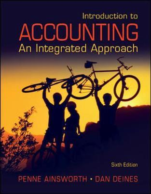 Introduction to Accounting: An Integrated Approach by Penne Ainsworth image