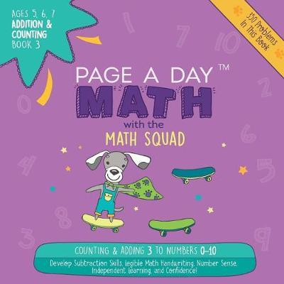 Page a Day Math Addition & Counting Book 3 by Janice Auerbach image