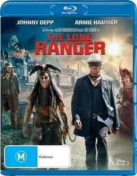 The Lone Ranger on Blu-ray