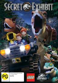 Lego Jurassic: The Secret Exhibit on DVD