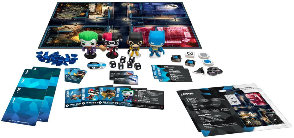 Funkoverse: Gotham City Rumble - Board Game (4-Pk) image
