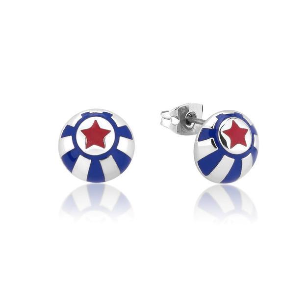 Couture Kingdom: Disney - Dumbo Circus Ball Stud Earrings (White Gold)