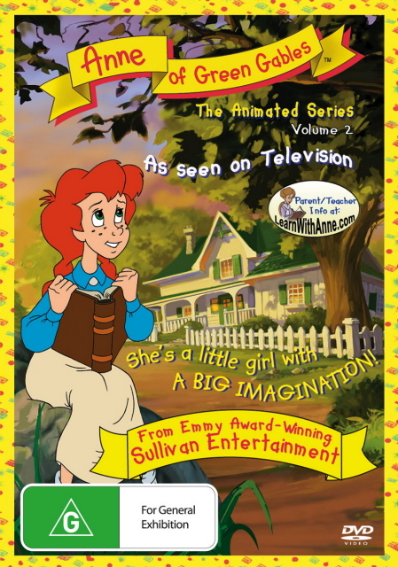 Anne Of Green Gables - The Animated Series: Vol. 2 on DVD