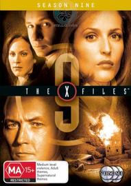 The X-Files - Season 9 (5 Disc Set) on DVD image