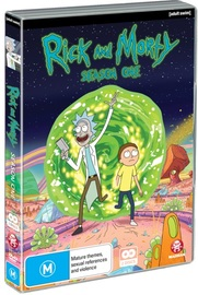 Rick and Morty - Season 1 on DVD image