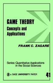 Game Theory by Frank C Zagare