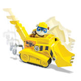 Paw Patrol: Basic Vehicle & Pup - Super Pup Rubble's Crane