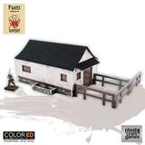 ColorED Scenery: Fukei - Horse Stable