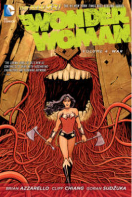 Wonder Woman Vol. 4 War (The New 52) by Brian Azzarello