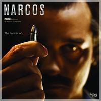 Narcos 2018 Square Wall Calendar
