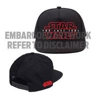 c13b5d51e14 Star Wars  The Last Jedi - Logo Snapback Cap image