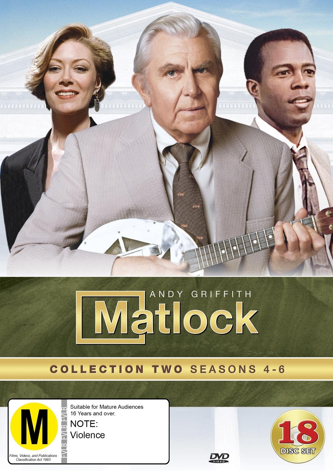 Matlock: Collection 2 - (Seasons 4-6) on DVD image