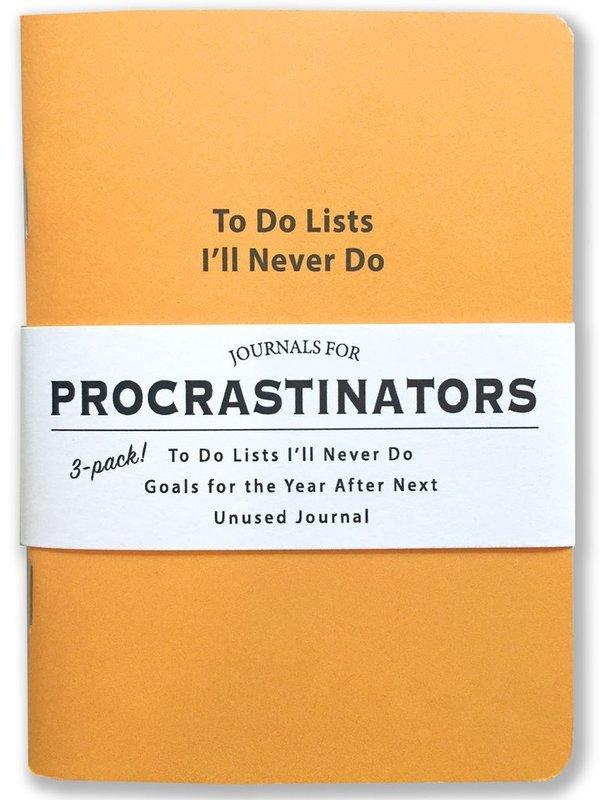 Whiskey River Co: Journal - Procrastinators