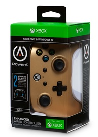 Xbox One Enhanced Wired Controller - Gold for Xbox One