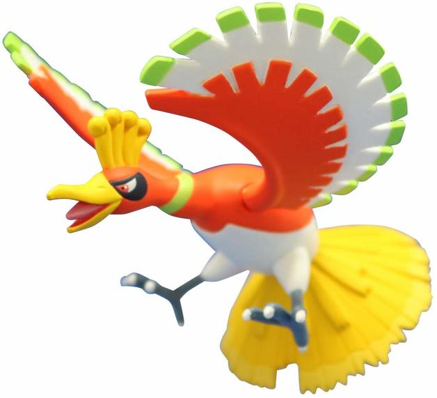 Pokemon: Moncolle: Ho-Oh - PVC Figure