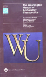 The Washington Manual of Ambulatory Therapeutics by Washington University School Of Medicine image