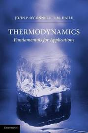 Thermodynamics by J.P. O'Connell