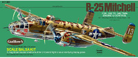 B-25 Mitchell 1:32 Balsa Model Kit