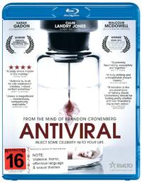 Antiviral on Blu-ray