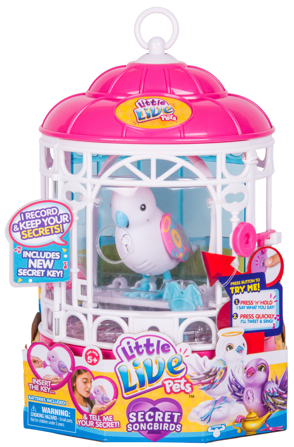 Little Live Pets: Secret Songbirds Bird Cage - Secret Angie image