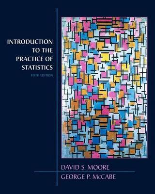 Introduction to the Practice of Statistics by George P McCabe image