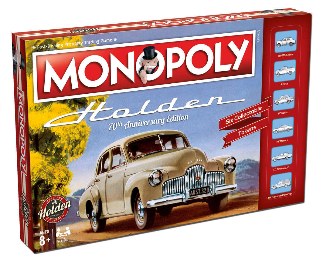 Monopoly: Holden Heritage image